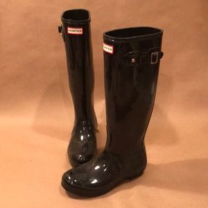 Hunter Boots Size 8